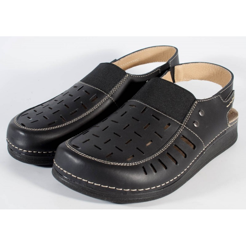 Negre Piele 3424 Sandale Barbaticod Naturala Pentru Mubb uTc3lFKJ1